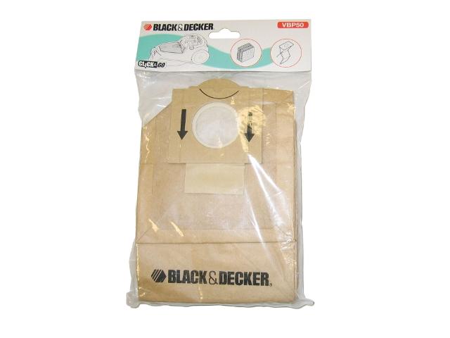Worki i filtry do odkurzaczy Black&Decker