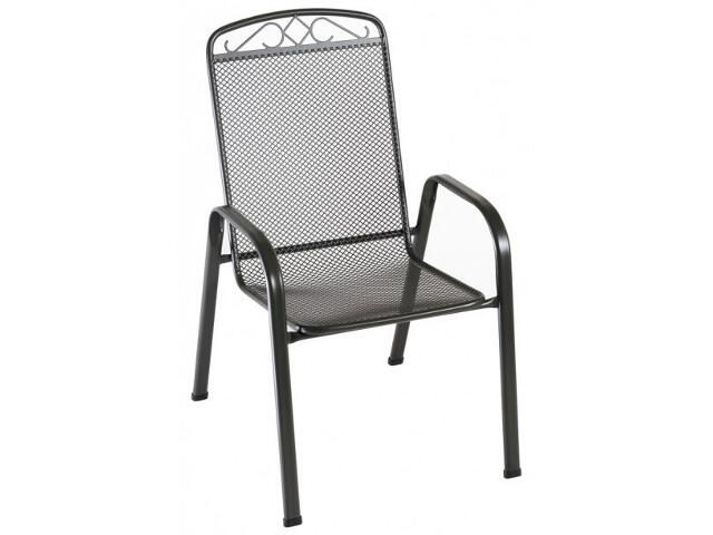 Krzesło ogrodowe sztaplowane Apollo Bazkar