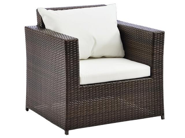 Fotel ogrodowy Ambra brązowy IRM
