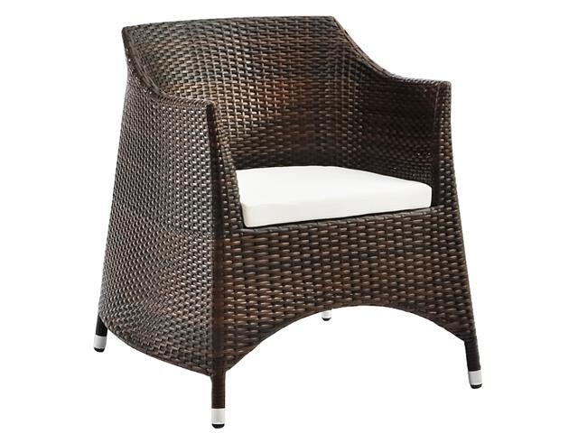 Fotel ogrodowy Smeraldo brązowy IRM