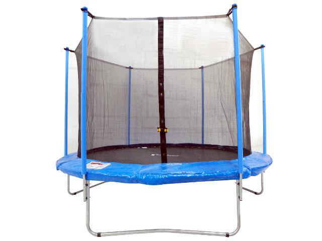 Trampolina ogrodowa z siatką 244 cm Total Sport