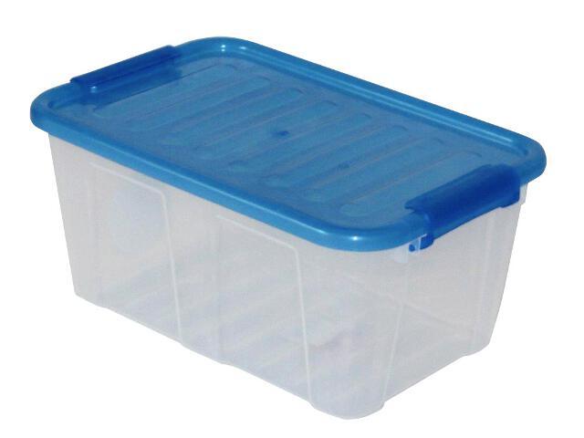 Pojemnik do przechowywania Home Box 8L ocean blue Plast Team