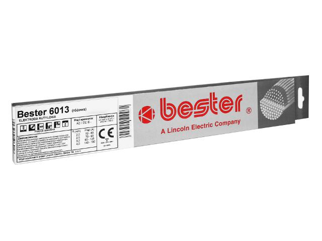 Elektroda rutylowa 6013 3,2x350mm 0,5kg Bester