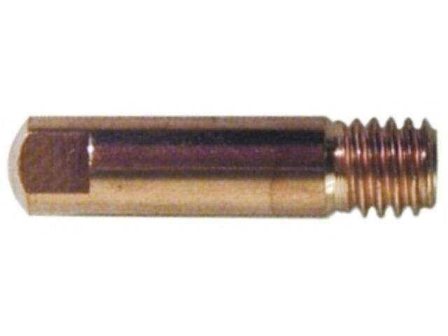 Końcówka spawalnicza kontaktowa 0,6mm M6/25 Tecnoelettra