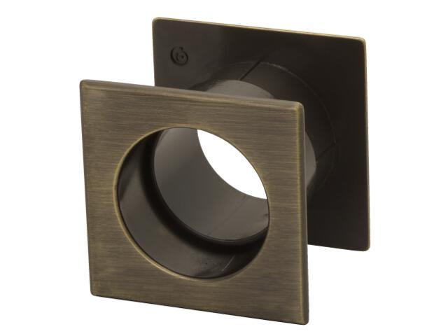 Tuleja wentylacyjna kwadrat mosiądz antyczny TW01-G00AB-KW-SU Gamet