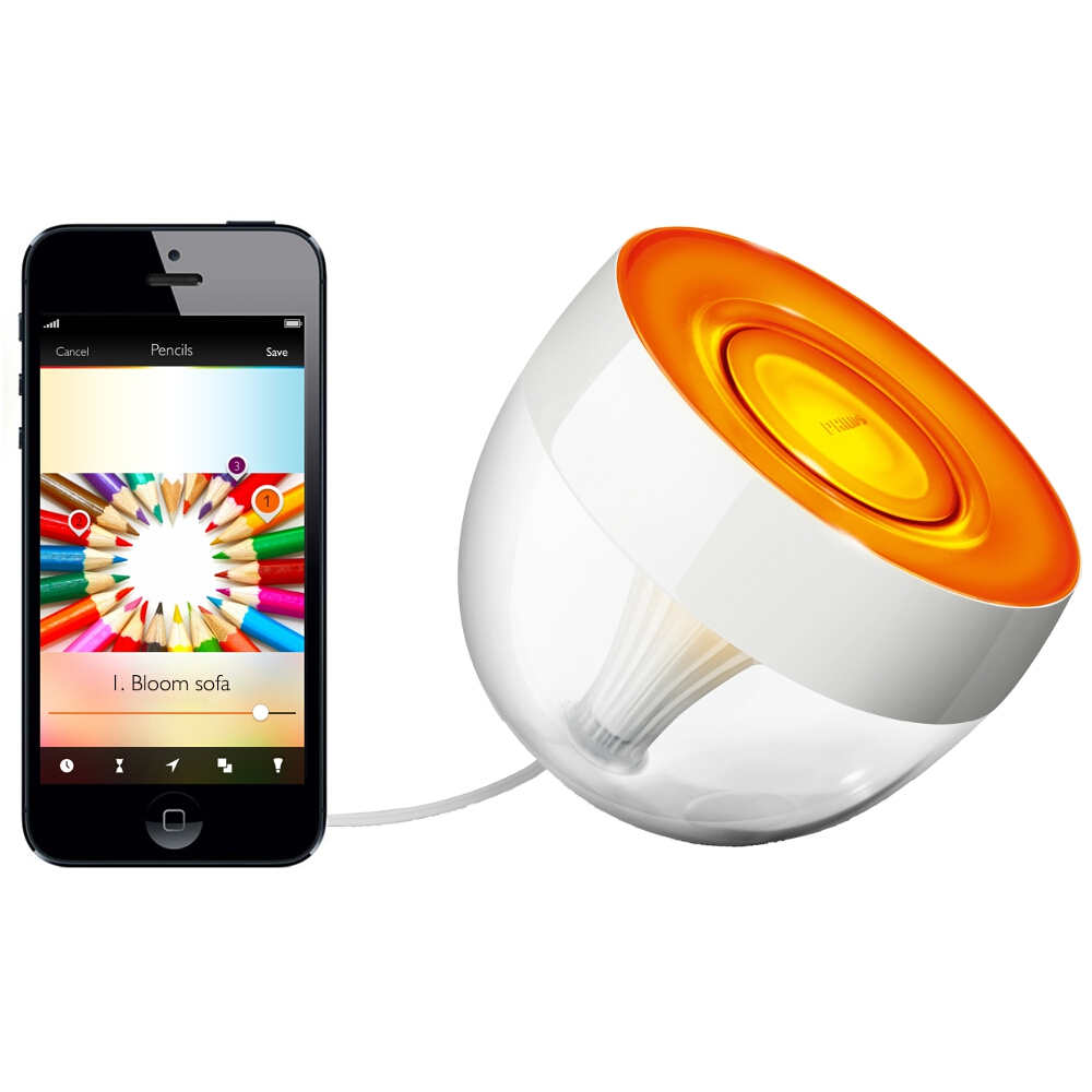 lampa stoj ca living colors iris 71999 60 ph philips hue. Black Bedroom Furniture Sets. Home Design Ideas