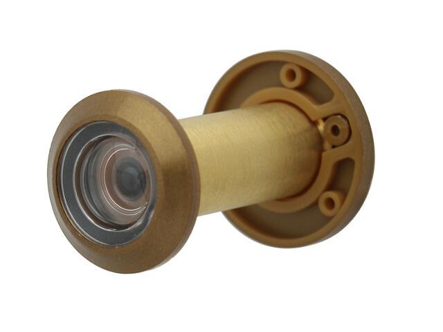 Wizjer drzwiowy 40/70/160 brąz grafiatto SECUREMME