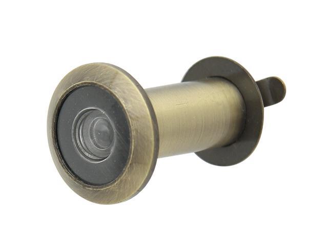 Wizjer drzwiowy 160 fi14 brąz grafiatto Domino