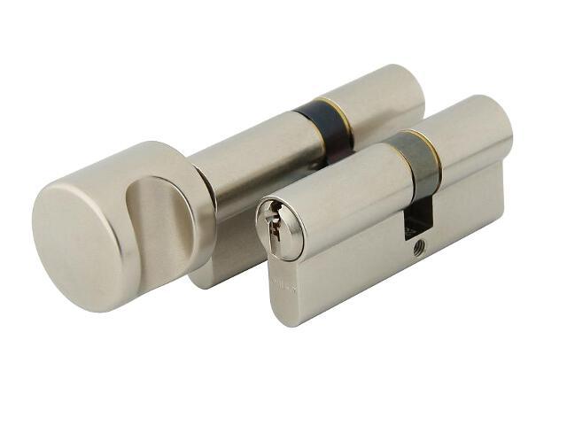 Zestaw wkładek jednakowo kodowanych 1400+1405 klasa B 30/50+50/30G 6 kluczy nikiel WILKA