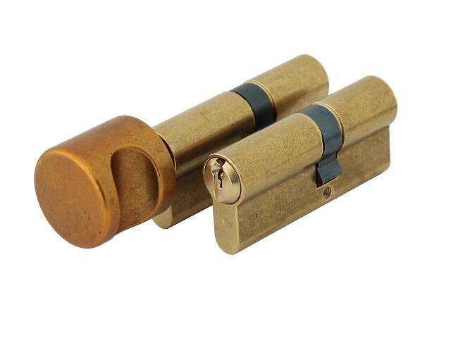 Zestaw wkładek jednakowo kodowanych 1400+1405 klasa B 35/40+35/40G 6 kluczy mosiądz WILKA