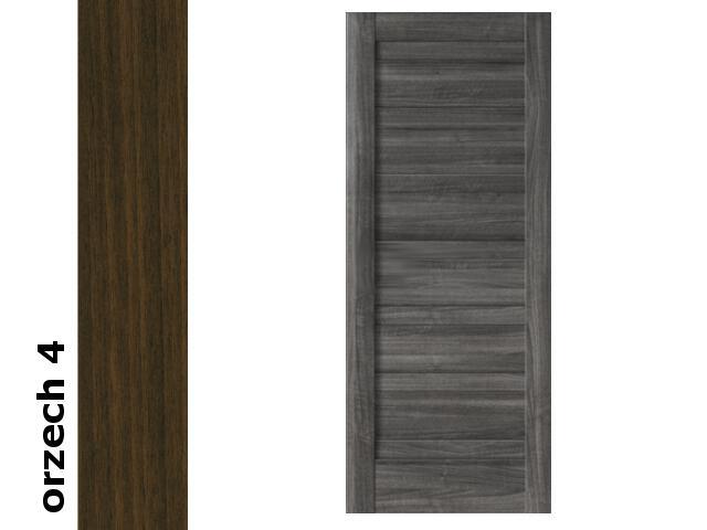Drzwi przesuwne bezprzylgowe okleina Dur orzech 4 E0 90 Verte
