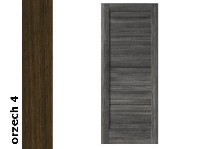 Drzwi przesuwne bezprzylgowe okleina Dur orzech 4 B0 80 Verte