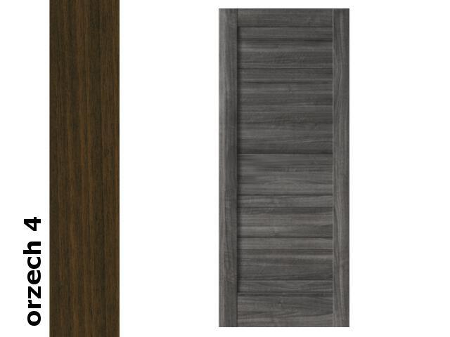 Drzwi przesuwne bezprzylgowe okleina Dur orzech 4 E0 80 Verte