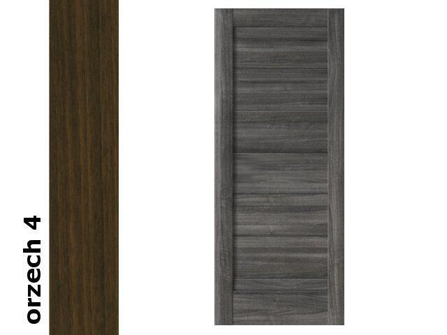 Drzwi przesuwne bezprzylgowe okleina Dur orzech 4 E0 60 Verte