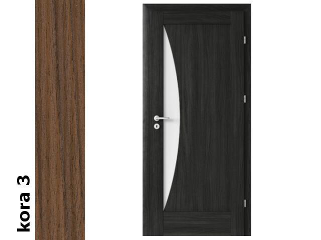 Drzwi okleinowane Cortex kora 3 E3 80 prawe zawiasy srebrne Verte