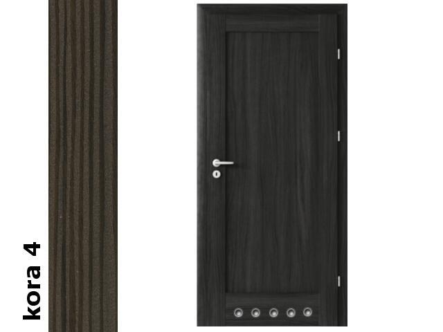 Drzwi okleinowane Cortex kora 4 E0 80 lewe blokada wc tuleje zawiasy srebrne Verte