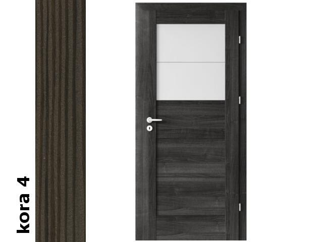 Drzwi okleinowane Cortex kora 4 B2 70 prawe blokada wc zawiasy srebrne Verte
