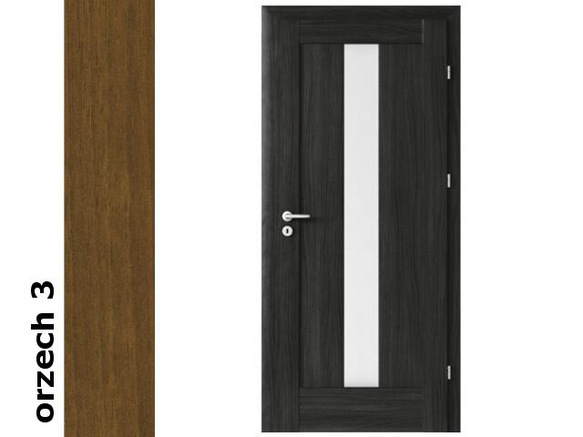 Drzwi okleinowane Dur orzech 3 E4 80 prawe zamek oszcz. zawiasy złote Verte