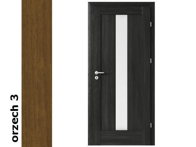 Drzwi okleinowane Dur orzech 3 E4 80 lewe zamek oszcz. zawiasy złote Verte
