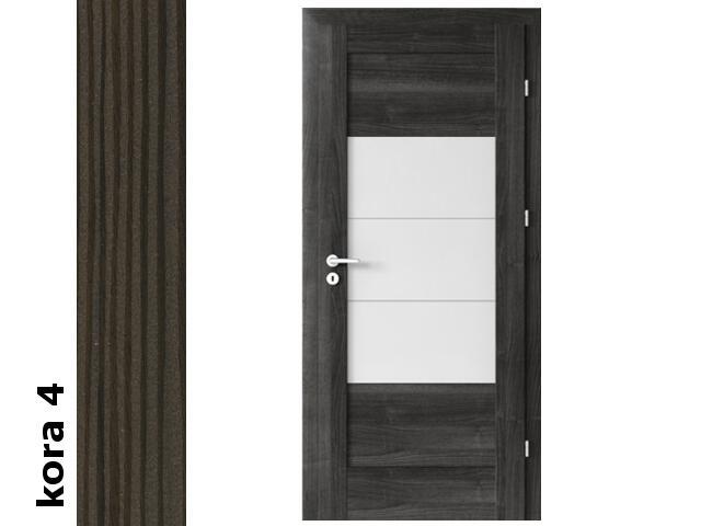 Drzwi okleinowane Cortex kora 4 B7 80 prawe zamek oszcz. zawiasy srebrne Verte