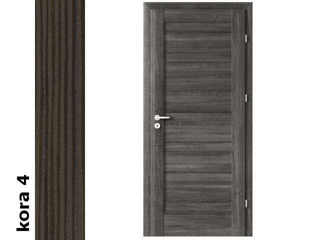 Drzwi okleinowane Cortex kora 4 D0 70 prawe zawiasy srebrne Verte
