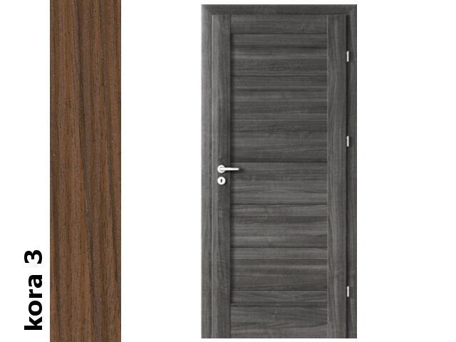 Drzwi okleinowane Cortex kora 3 D0 80 prawe zawiasy złote Verte