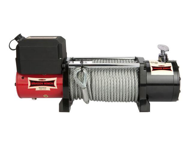 Wyciągarka Maverick DWM 13000 z liną syntetyczną 12V Dragon Winch