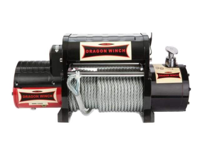 Wyciągarka Maverick DWM 12000 HDI z liną stalową 12V Dragon Winch