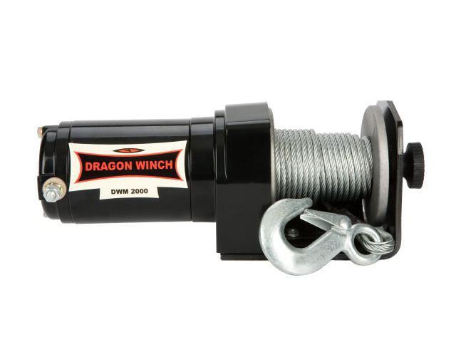 Wyciągarka Maverick DWM 2000 ST-1 z liną stalową 12V Dragon Winch