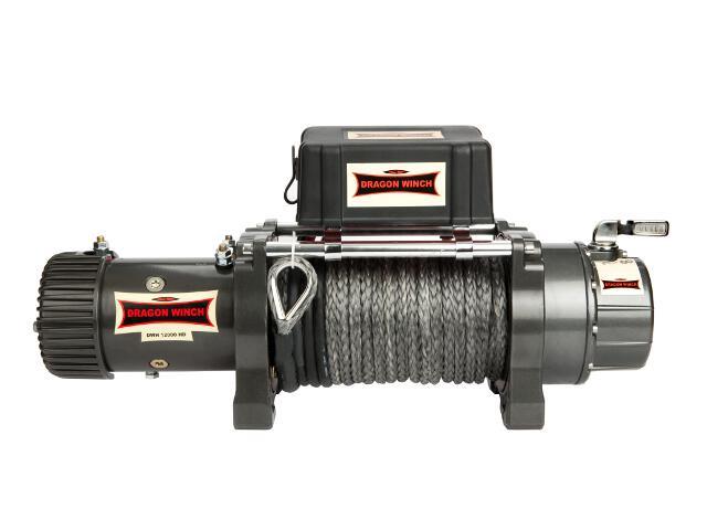Wyciągarka Highlander DWH 12000 HD z liną syntetyczną 12V Dragon Winch