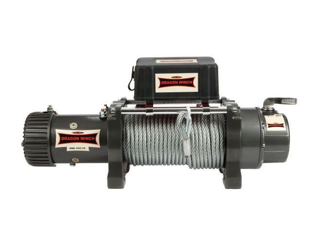 Wyciągarka Highlander DWH 9000 HD z liną stalową 12V Dragon Winch