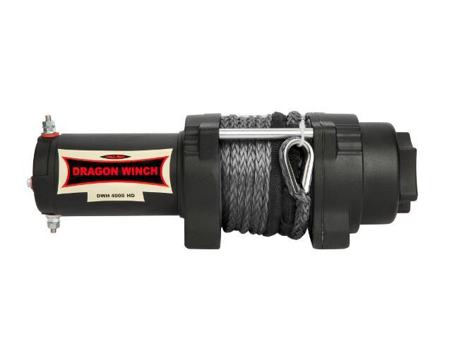 Wyciągarka Highlander DWH 4000 HD z liną syntetyczną 12V Dragon Winch