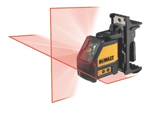 Laser samopoziomujący do wyznaczania pionu i poziomu DW087K DeWALT