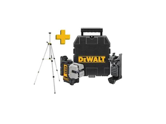 Laser samopoziomujący DW089KTRI 6V DeWALT