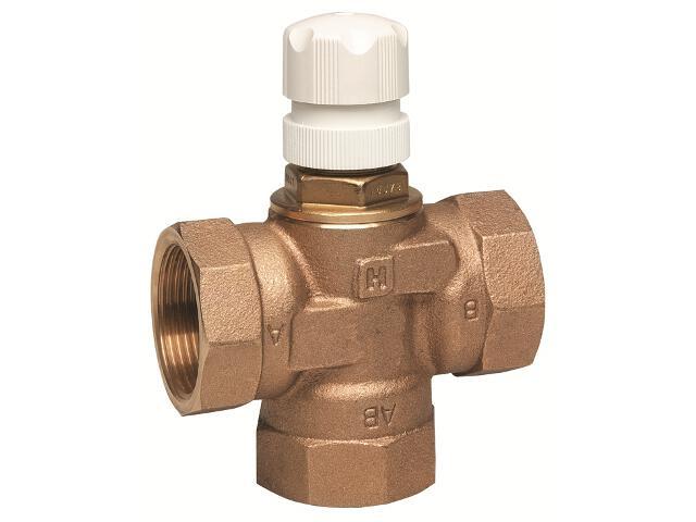 Zawór rozdzielający 3-drogowy DN 25 kvs=5 napęd M7410E/M741°C/M641°C/M6410L V5078B1021 Honeywell