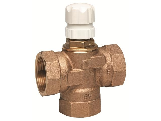 Zawór rozdzielający 3-drogowy DN 32 kvs=5 napęd M7410E/M741°C/M641°C/M6410L V5078B1039 Honeywell