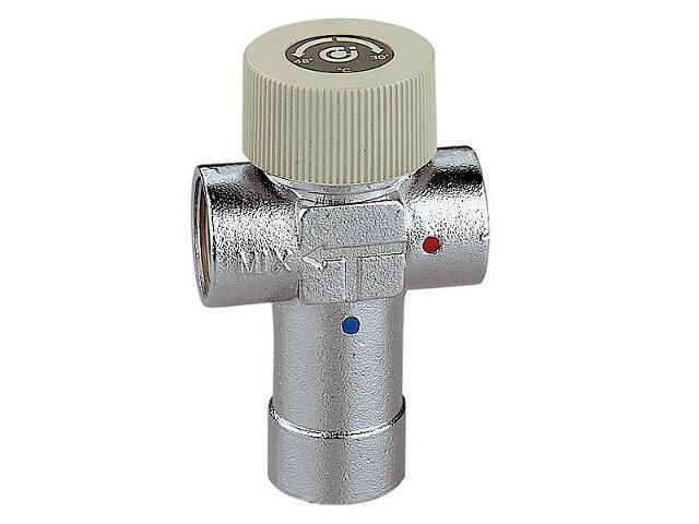 """Mieszacz termostatyczny regulowany 1"""" 30-48°C Caleffi"""