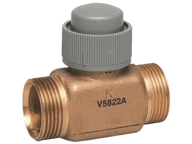 """Zawór regulacyjny przelotowy DN 20 G 3/4"""" Kvs=25 V5822A1063 Honeywell"""