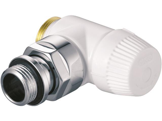 """Zawór zasilający termostatyczny Thera Design biały narożny lewy 1/2"""" V2081LSL15 Honeywell"""