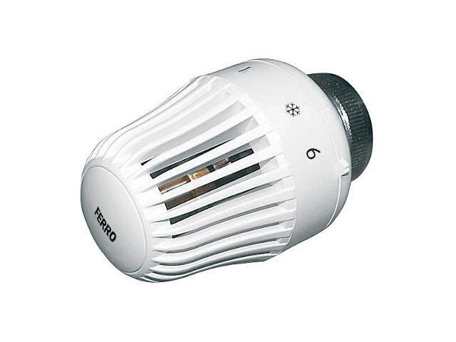 Głowica termostatyczna biała GT2 Ferro
