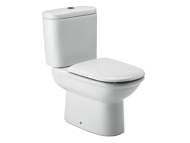 Miska WC stojąca kompaktowa GIRALDA odpływ poziomy A342466000 Roca
