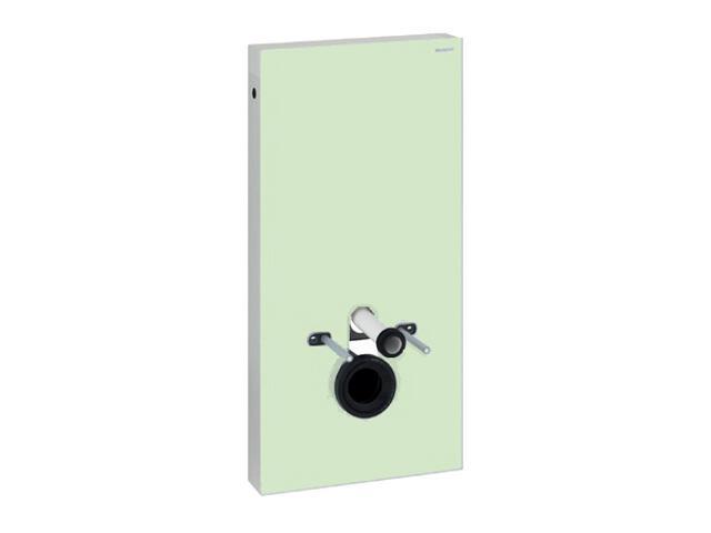 Stelaż MONOLITH do WC wiszących szkło miętowe / aluminium 131.022.SL.1 Geberit