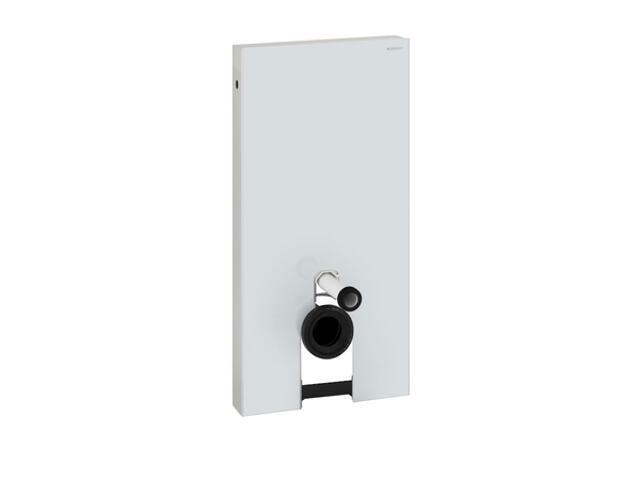 Stelaż MONOLITH do zestawu AquaClean8000 szkło białe / aluminium 131.023.SI.1 Geberit