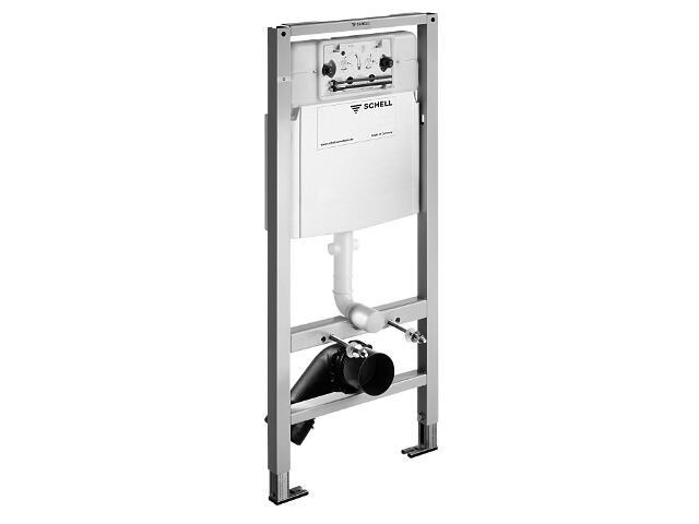 Stelaż do WC ze spłuczką zbiornikową Schell