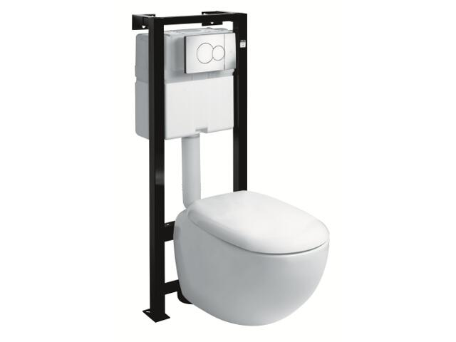 Stelaż do WC z miską EGO z miską wiszącą K13102900 99176900 Koło