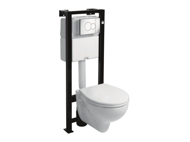 Stelaż do WC REKORD 99170000 z miską wiszącą K93100000 Koło