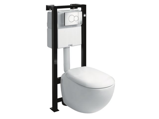 Stelaż do WC z miską EGO z miską wiszącą K13102000 99176000 Koło