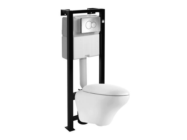 Stelaż do WC z miską OVUM z miską wiszącą L43100000 99194000 Koło
