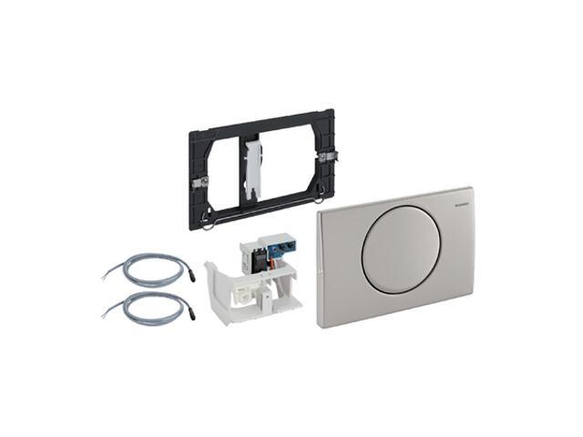 Zestaw elektryczny HyTronic uruchamiający WC, Mambo, stal nierdzewna 115.863.00.1 Geberit