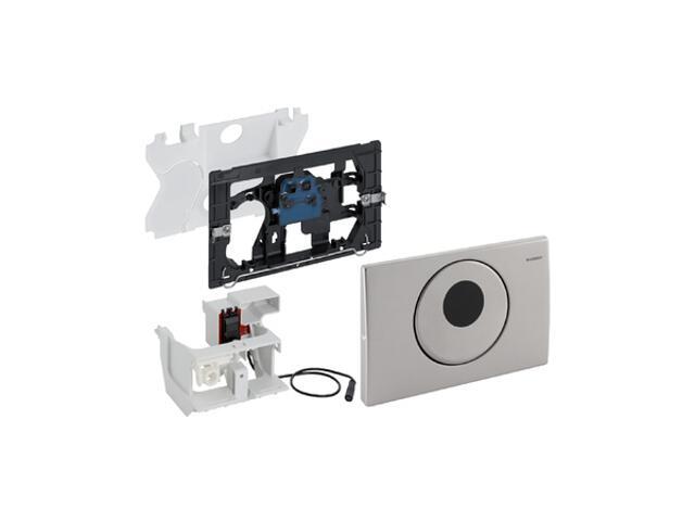 Zestaw elektroniczny HyTronic uruchamiający WC, IR, Mambo stal nierdzewna 115.890.00.1 Geberit